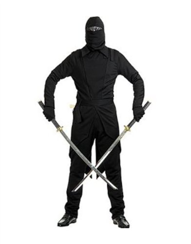 Adult Men's Black GI Ninja Snake Eye Costume
