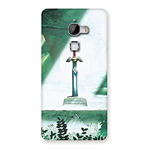 Cute Sword Grave Multicolor Back Case Cover for LeTv Le Max