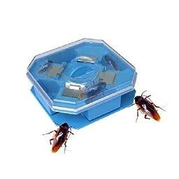 Convenient Repeated Usage Cockroach Trap Pest Killer Catcher