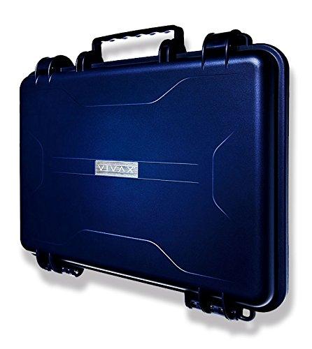 VIVAX CASE - Custodia per laptop e molto altro - Indistruttibile Anti Shock Waterproof IP68 Minimal Design BLU