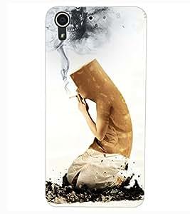 ColourCraft No Smoking Design Back Case Cover for HTC DESIRE 626