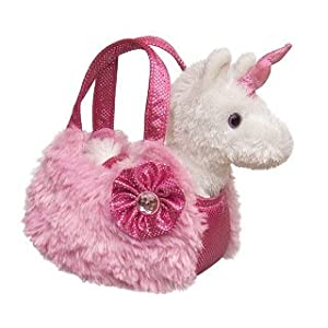 Aurora World Plush Pink Pet Carrier