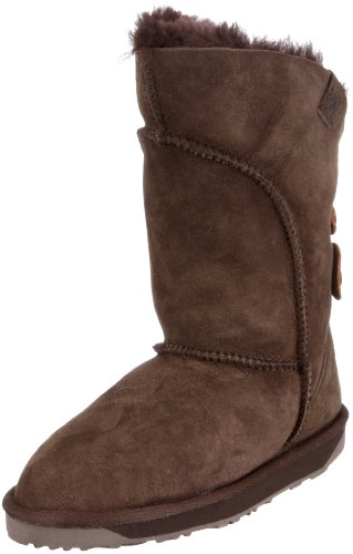 Emu Australia Women's Alba Chocolate Mid Calf Boots W10088 8 UK