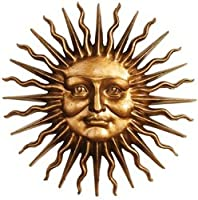 Design Toscano NG34918 Sloane Square Greenman Sun Wall Sculpture from Design Toscano