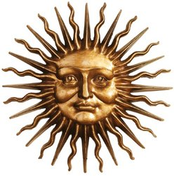 Design Toscano NG34918 Sloane Square Greenman Sun Wall Sculpture from Design Toscano