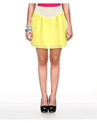 Yepme Women's Yellow Polyester Skirt-YPMSKRT5022_30