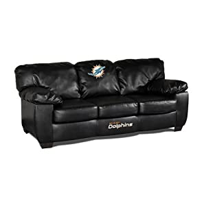 NFL Miami Dolphins Team Classic Sofa by Imperial