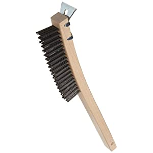 Amazon.com: Adcraft WBR-14 Wire Brush with Scraper