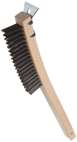 Adcraft WBR-14 Wire Brush with Scraper (Wire Grill Brush compare prices)