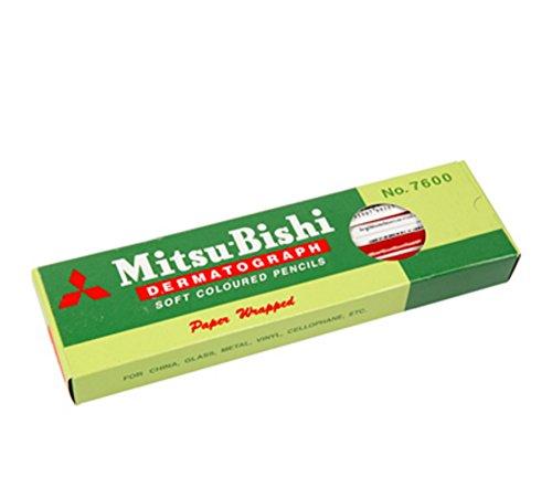 mitsubishi-dermatograph-no7600-red-12-pencils-box