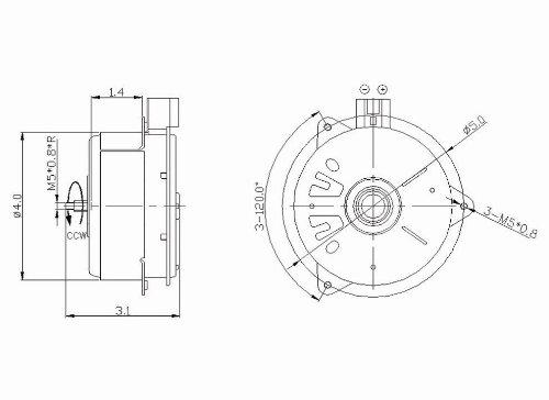 Tyc 630700 Toyota Replacement Radiator Cooling Fan Motor