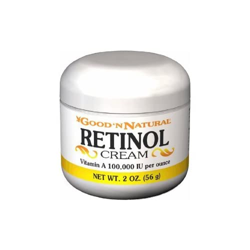 retinol cream vitamin a 100 000 iu per ounce 2 oz. Black Bedroom Furniture Sets. Home Design Ideas