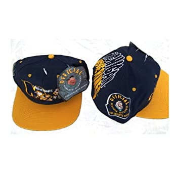 NCAA Licensed Vintage Snapback Michigan Wolverines Flintstones Bedrock Gear Hat