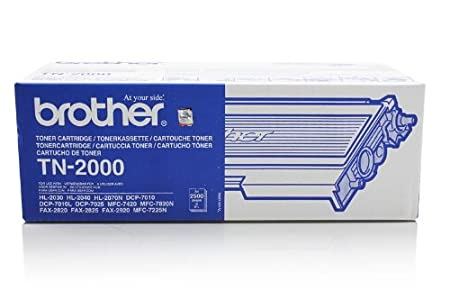Brother MFC-7820 N - Original Brother TN-2000 - Cartouche de Toner Noir -