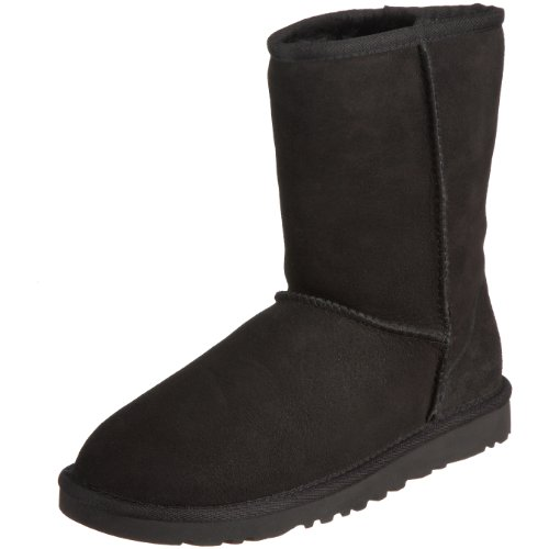 Ugg Australia Women's Classic Short Black Flat 5825Black8  6.5 UK