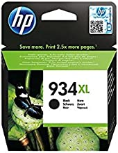 Comprar HP 934XL High Yield Black Original Ink Cartridge - Cartucho de tinta para impresoras (Negro, Alto, 1000 páginas)