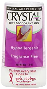 Crystal Travel Deodorant Stick - 40 g