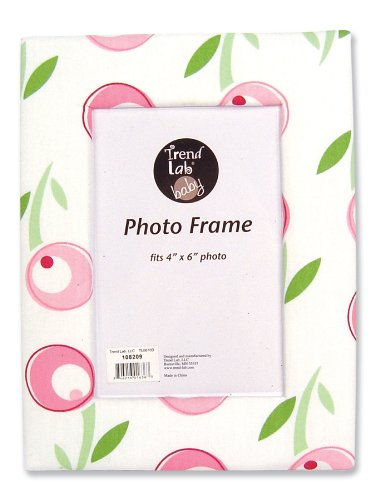 Trend Lab Fabric Covered Photo Frame, Tulip front-177998