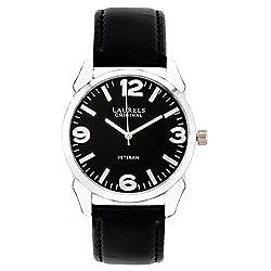 Laurels Analog Black Dial Mens Watch - Lo-Gt-302