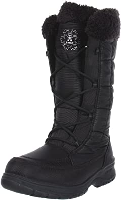 Kamik Women's New York Snow Boot,Black,6 M US