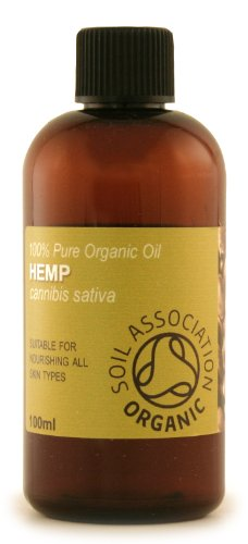 100ml Organic Hemp Oil - 100% Pure Cold Pressed Carrier Oil Reviews
