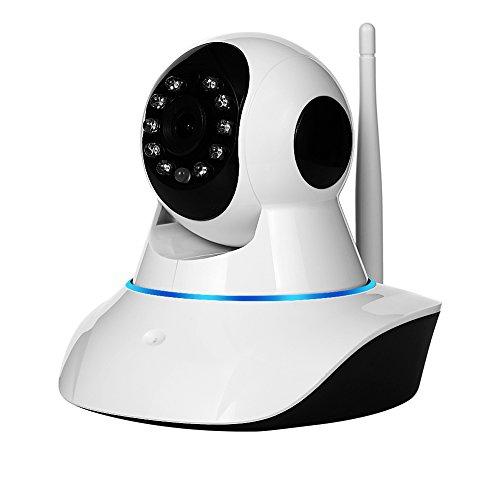 NexGadget IP Cámara HD WiFi Interior P2P Micrófono Altavoz Visión Nocturna Detección de Movimiento