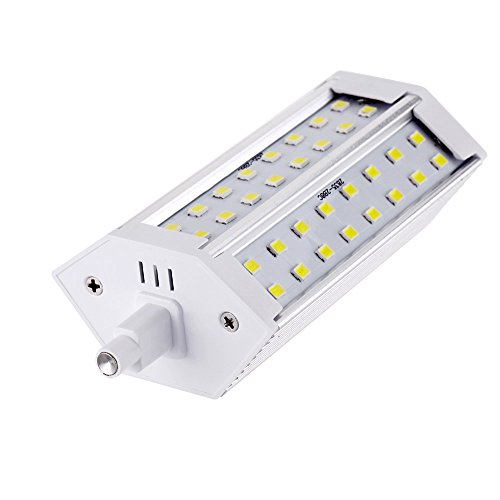 Docooler® R7S 10W 85-265V Led 48 2835 Smd Lamp Energy Saving Flood Light Bulb Lamp 118Mm Warm White