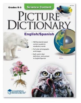 Learning Resources 1569112746 Picture Dictionary, Science Content