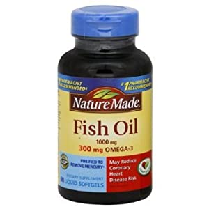 Nature Made Fish Oil, 1000 Mg, 90-count (Pack of 4)