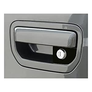 Pop & Lock PL6102 Silver Manual Tailgate Lock for Honda Ridgeline (Works with/without factory backup camera)
