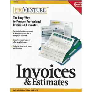 ProVenture Invoices and Estimates (Invoice And Estimate Program compare prices)