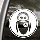 DISNEY Decal EVE WALL E ROBOT Truck Window Sticker