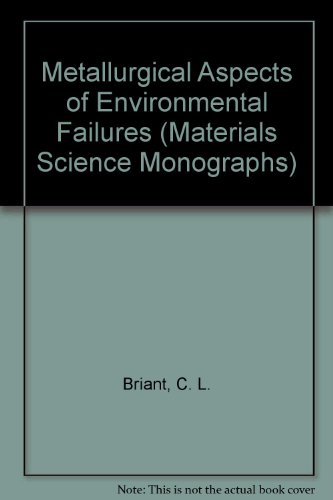 Metallurgical Aspects of Environmental Failures (Materials Science Monographs)