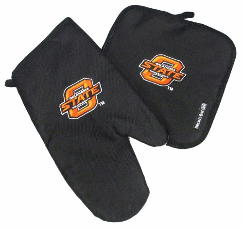 Osu Oklahoma State Mitt Potholder Set Osu Cowboys Kitchen Tailgating Or Barbecue Pot Holder College Ncaa Licensed