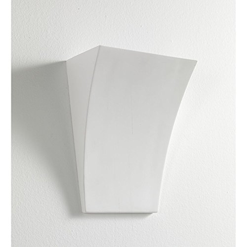 Tomasucci Firenze Applique, Bianco, Lunghezza 19,5 cm/Profondità 11 cm/Altezza 26 cm
