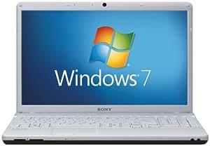 "Sony VPCEB4E1E/WI VAIO 15.5"" Laptop (Intel Pentium Processor P6200 2.13GHz,4GB RAM,320GB HDD,DVD SuperMulti Drive,Windows 7 Home Premium) Silver Lid & Matte White Inside"