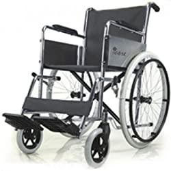 Active For All Folding Wheel Chair Crome Plated