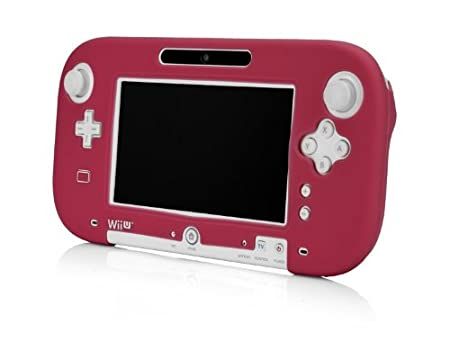 Wii U Gamepad Silicone Jacket - Red
