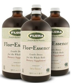 Flor-Essence Tea - Advanced 30 Day Cleanse - Four 32 oz Bottles Liquid