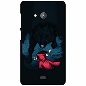 Back Cover For Microsoft Lumia 540 Dual SIM -(Printland)