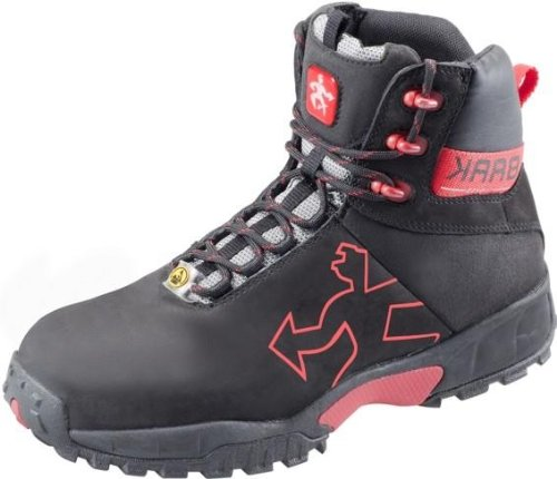 Stivali Robert Sports light BAAK protagonista, S2P ESD un'altezza scarpe, BGR191 nero, 7374, Nero, 7374