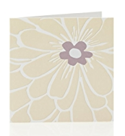8 Cream Flower Multipack Cards