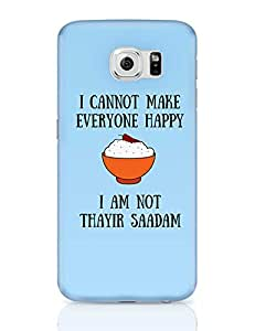 PosterGuy Samsung Galaxy S6 Case Cover - Happiness = Thayir Saadam | Designed by: We Are TamBrahm