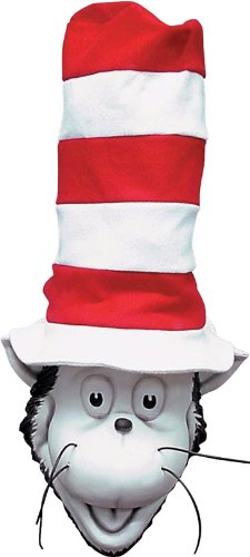 The Cat in the Hat Latex Mask