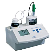 Hanna Instruments HI 84100-01 Mini Titrator for Free and Total Sulfur Dioxide Measurements in Wine, 50mL Capacity, 115V, +/-1ppm Accuracy, 1 ppm Resolution
