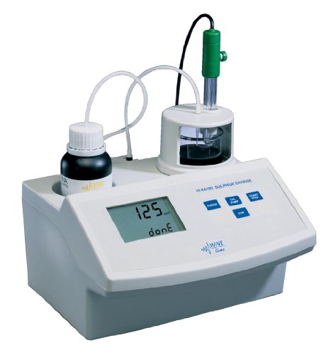 Hanna Instruments HI 84100-01 Mini Titration System for Free and Total Sulfur Dioxide Measurements in Wine Analysis