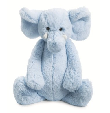 Jellycat Bashful Blue Elly Chime Elephant Plush Toy front-777219