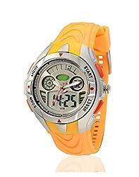 Yepme Mens Analog Digital Watch - Orange