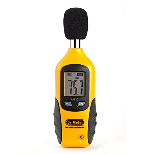 Backlit Sound Level Meter
