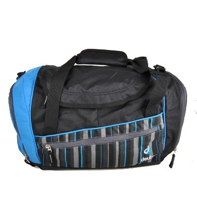 Deuter Sport- Reisetasche Hopper Ash Black-Stripes